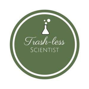 The Trash-less Scientist Logo